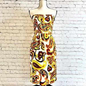 Banana Republic Paisley Dress Size 2